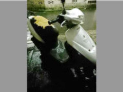 葛飾区堀切1丁目で原付バイク レッツ2 コンビブレーキを無料で引き取りと処分