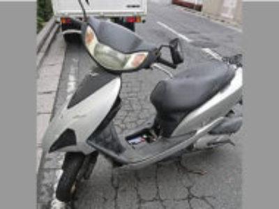 横浜市南区新川町5丁目で原付バイク Dio 4ストを無料引き取り処分