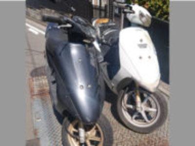 横浜市港南区大久保3丁目で原付バイク2台を無料で引き取りと処分