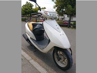 さいたま市岩槻区南辻で無料で引き取りと廃車をした原付バイクのDio FI パールコットンアイボリー