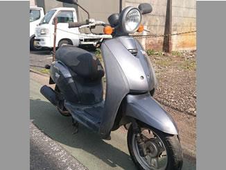 府中市是政で無料で処分と廃車をした原付バイク トゥデイ シリウスブルーメタリック