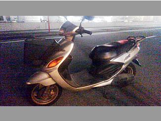 千葉市中央区宮崎町で無料で処分と廃車をした原付バイク グランドアクシス100