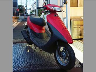世田谷区経堂で無料で処分と廃車をした原付バイクのホンダ ライブDio