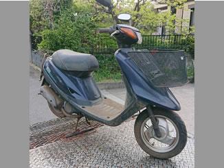 横浜市都筑区茅ケ崎中央で無料で処分と廃車をした原付バイクのヤマハ JOG