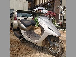 八王子市川口町で無料で処分と廃車をした原付バイク ホンダのスマートDio DX