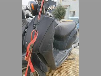 富士見市諏訪2丁目で無料で引き取りと廃車をしたホンダ トゥデイ ブラック