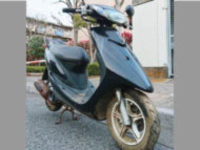 足立区六月2丁目で原付バイクのスーパージョグZRを無料で引き取り処分