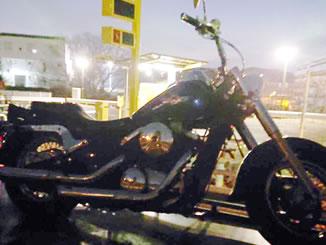 横浜市保土ケ谷区常盤台で無料で引き取りと廃車をしたカワサキ バルカン400 クラシック