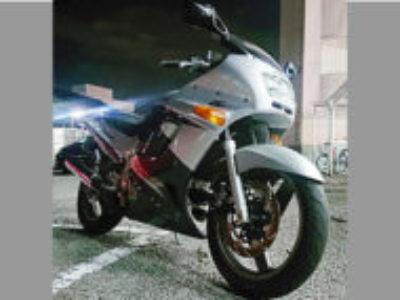 宇都宮市簗瀬町で250ccバイクのカワサキ ZZR250を無料で引き取り処分