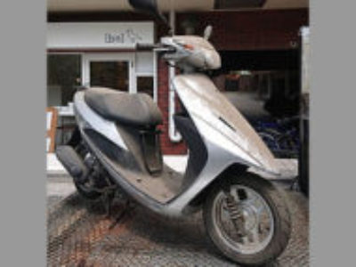 練馬区栄町で原付バイクのスズキ アドレスV50を無料で引き取り処分