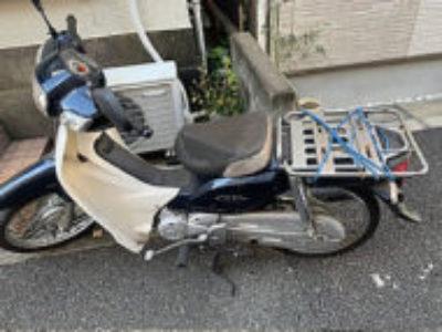 文京区西片2丁目で原付バイクのホンダ スーパーカブ110を無料で引き取りと処分