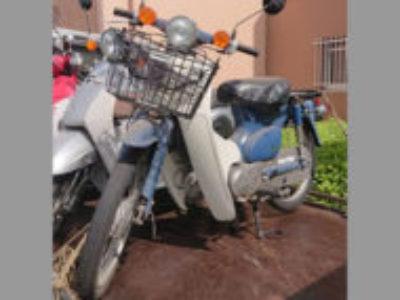 横浜市旭区二俣川2丁目で原付バイクのホンダ スーパーカブ50を無料で引き取り処分