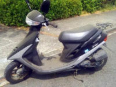 八王子市南大沢4丁目で原付バイクのホンダ スーパーDioを無料引き取りと処分