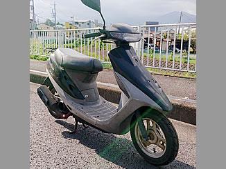 秦野市室町で無料で引き取り処分と廃車をした原付バイクのホンダ スーパーDio ブラック
