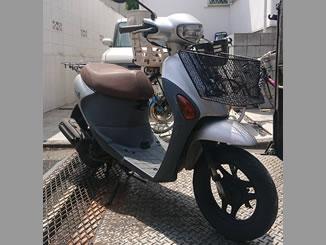 練馬区大泉学園町で無料で廃車と処分をした原付バイクのスズキ レッツ4G