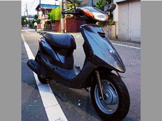 西東京市東伏見5丁目で無料で引き取りと廃車をした原付バイク ヤマハ JOG