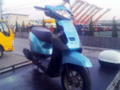 木更津市高柳2丁目の原付バイク ホンダ タクト ベーシックを無料引き取り処分