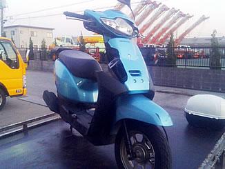 千葉県木更津市高柳2丁目で無料で引き取りと廃車をした原付バイク ホンダ タクト ベーシック