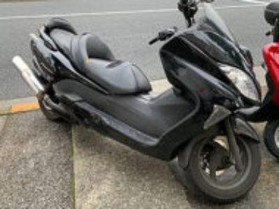 北九州市小倉南区で250ccバイクのホンダ フォルツァ Xを無料で引き取り処分