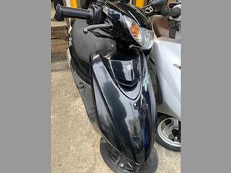 久留米市大手町で引き取り処分と廃車をした原付バイクのヤマハ JOG ZR ブラック