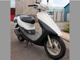 府中市小柳町で無料で引き取りと廃車をした原付バイクのホンダ ライブDio