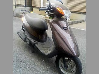 さいたま市桜区中島1丁目で無料廃車と処分をした原付バイクのヤマハ JOG4スト