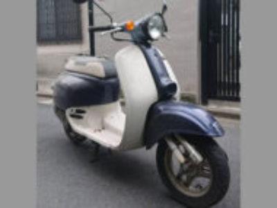 杉並区高円寺南2丁目で原付バイクのホンダ ジョルノ ブルーを無料で引き取り処分