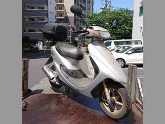 越谷市千間台西1丁目で無料で処分と廃車をした原付バイクのホンダ ライブDio ZX