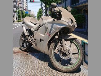 足立区東綾瀬3丁目で無料で処分をした原付バイクのNS-1