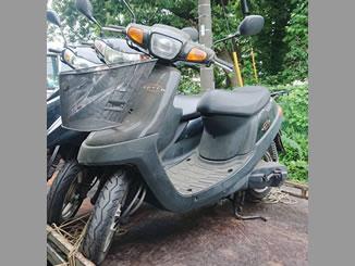 横浜市青葉区しらとり台で無料で廃車と処分をした原付バイクのヤマハ アプリオ