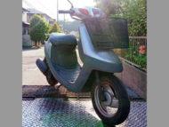 横須賀市吉井2丁目で原付バイクのヤマハ アプリオ シルバーを無料引き取り処分
