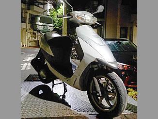 西東京市南町4丁目で無料で廃車と処分をした原付バイクのスズキ ZZ SE