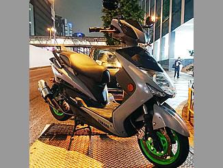渋谷区道玄坂で無料で廃車と処分をした原付バイクのヤマハ シグナスX