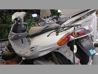 朝霞市西原1丁目で無料で廃車と処分をした原付バイクのヤマハ BJ