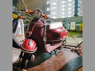 足立区梅田5丁目で無料で処分と廃車をした原付バイクのホンダ ジョルノDX