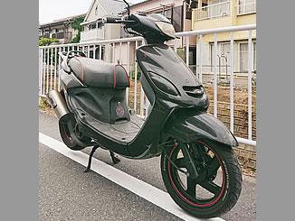 浦安市富士見3丁目で無料で廃車と処分をした原付バイクのヤマハ グランドアクシス
