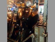 台東区東上野4丁目で原付バイクのホンダ トゥデイ ブラックを無料で引き取り処分