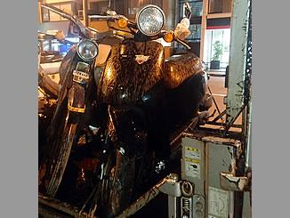台東区東上野で無料で引き取り処分をした原付バイクのホンダ トゥデイ ブラック