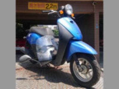 三鷹市北野4丁目で原付バイクのホンダ トゥデイ FI ブルーを無料処分と廃車
