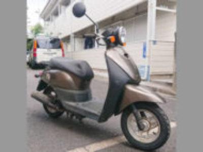 板橋区赤塚3丁目で原付バイクのホンダ トゥデイ FI ブラウンを無料で引き取り処分