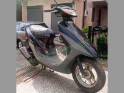 草加市遊馬町で原付バイクのホンダ ライブDio J ブラックを無料引き取りと処分