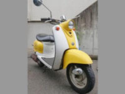 調布市染地3丁目で原付バイクのヤマハ ビーノ2サイクルを無料引き取り処分