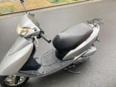 足立区六町3丁目で原付バイクのホンダ Dio FI シルバーを無料で処分と廃車