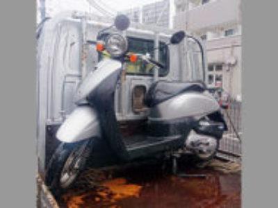 八王子市東中野で原付バイクのホンダ トゥデイ FIを無料引き取りと処分