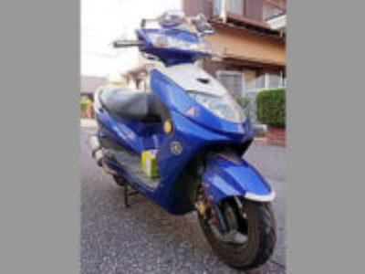川口市鳩ヶ谷本町3丁目で原付バイクのヤマハ シグナスZ 125を無料引き取りと処分