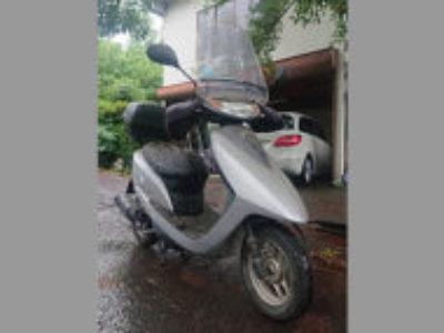 八王子市楢原町で原付バイクのホンダ Dio シルバー/グレイを無料引き取り処分