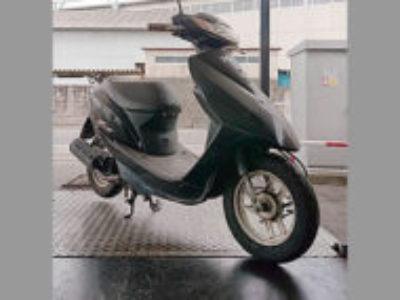 桐生市広沢で原付バイクのホンダ Dio/AF62 ブラックを無料で引き取り処分