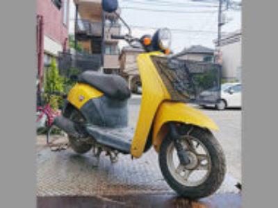 東松山市本町2丁目で原付バイクのホンダ トゥデイ イエローを無料で処分と廃車