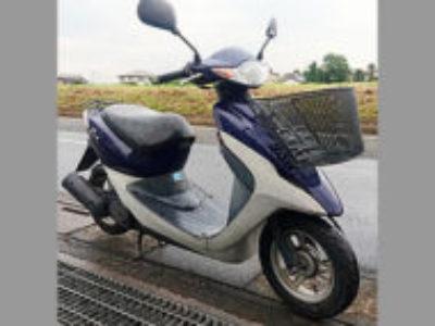 川口市戸塚東1丁目で原付バイクのホンダ スマートDio ブルーを無料引き取り処分と廃車
