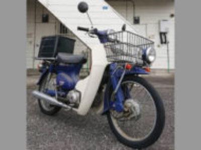 邑楽郡大泉町朝日で原付バイクのホンダ プレスカブ50 DXを無料処分と廃車